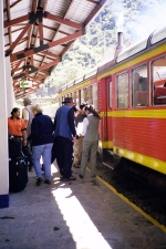 Machu Picchu trainphoto by Jan Krauel